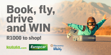 Book, fly, drive and win